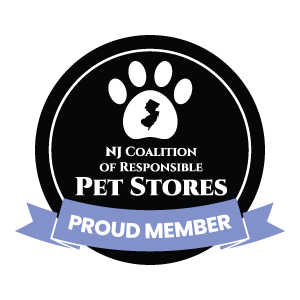 Bark Avenue Puppies is a Proud Member of the NJ Coalition of Responsible Pet Stores